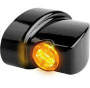 TC-Choppers LED Blinker Schwarz oder Chrom Rauch LED Passend für:> 93-20 Sportster, 93-17 Dyna, 93-20 Softail