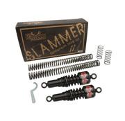 Burley slammer kit zwart of chroom Past op:> 04-15 XL Sportster