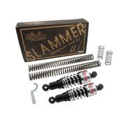 Burley slammer kit zwart of chroom Past op:> 06-17 Dyna
