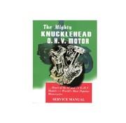 Wyatt Gatling Manual de servicio de fábrica para 1940-1947 Knucklehead