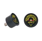 Accel oliedrukmeter 100 psi zwart of chroom Past op:> Universeel