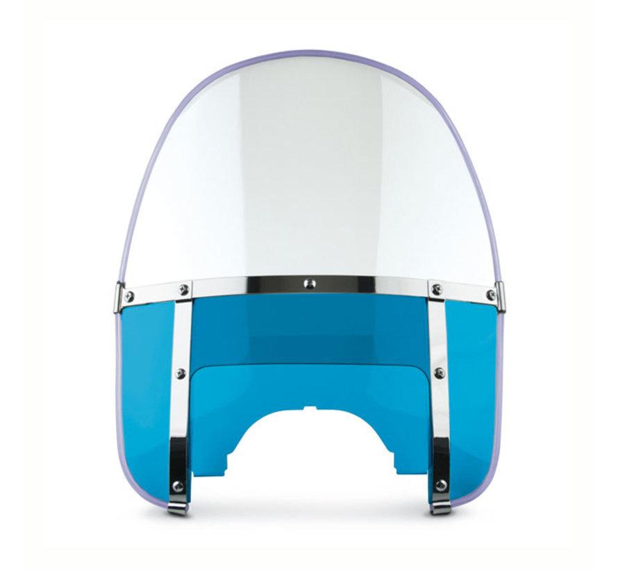 Beaded Met doorzichtige bovenruit en blauwe onderruit voorruit Past op:> 60-84 FL