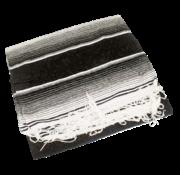 Texas leather sarapes, serapes, saltillos of Mexicaanse dekens. met zwarte of bruine houder Past op:> Universeel
