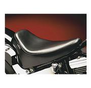 Le Pera Sitz Silhouette DeLuxe Solo Smooth 08-up Softail (Kotflügelhalterung) 150 mm Reifen Passend für:> 08-17 Softail