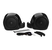 Hogtunes Gen 4 Unteres Lautsprecherkit für flüssigkeitsgekühlte Modelle 14‐20 FLHTCU / FLTRU / FLTRK / FLHTCUTG
