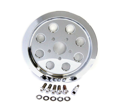 TC-Choppers TC-Choppers Pulley Cover, gaten (61T) Past op:> 91-99 XL Sportster