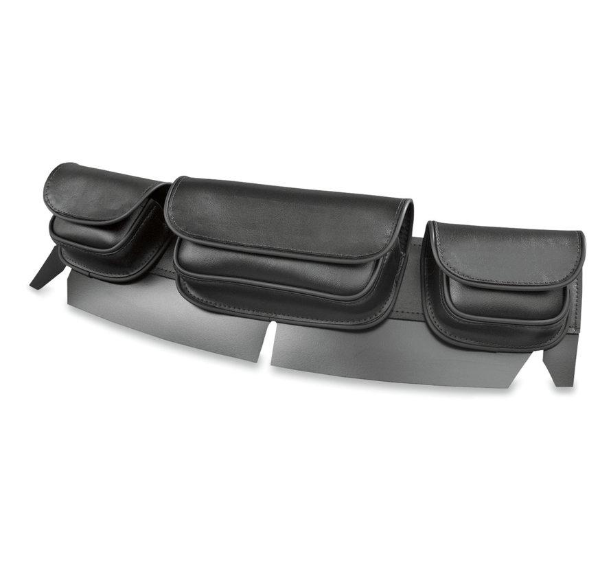Hopnel Standard Tri-Pouch Fits: > 99‑13 FLHT/ FLHX/H‑D FL Trike