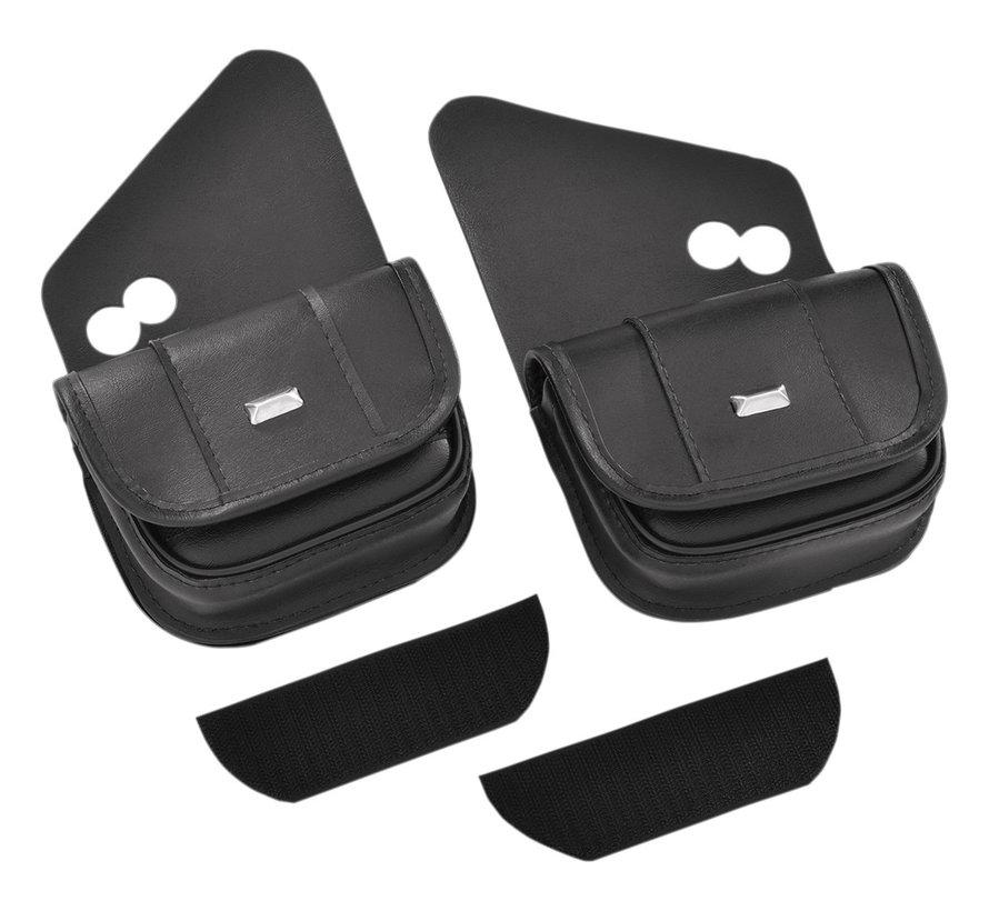 Hopnel Classic Dual Pouch Fits: > 99‑20 FLHT/ FLHX/ FLHTCUTG
