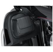 Kuryakyn Fairing Lower Door Pocket Bag Fits: > 14‑20 FLHTK/L/SE, 16‑20 FLTRU, 15‑16 FLTRUSE, 14‑20 FLHTCUTG, and 15‑20 FLHXSE
