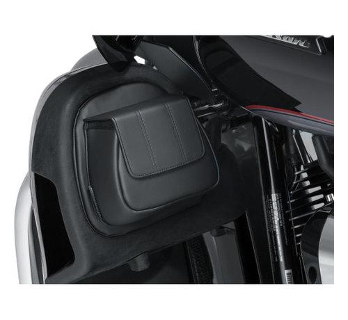 Kuryakyn Kuryakyn  Fairing Lower Door Pocket Bag Fits: > 14‑20 FLHTK/L/SE, 16‑20 FLTRU, 15‑16 FLTRUSE, 14‑20 FLHTCUTG, and 15‑20 FLHXSE