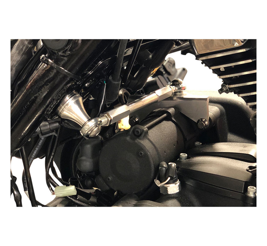 Alloy art Touring Frame Stabilizers black or polished Fits: > 17-20 FLHT/ FLHX/ FLHR/ FLTR and H-D FL Trikes