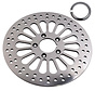 TC-Choppers super spoke front rotor stainless steel polished  for HD 1984-2007 size 11.5 inch