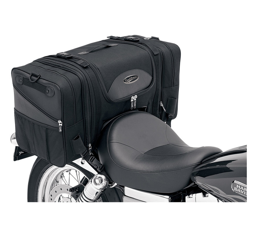 Saddleman TS3200S Deluxe Cruiser Tail Bag  Fits: > Universal