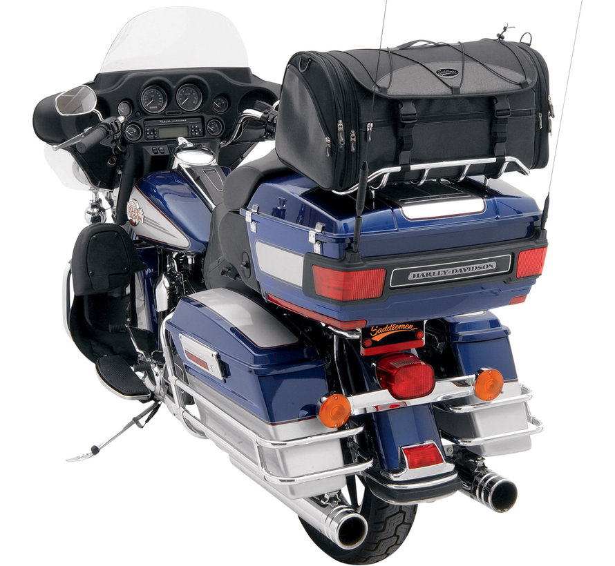 Saddleman TR3300DE Deluxe Rack Bag  Fits: > Universal