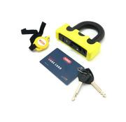 Abus Granit Power XS 67 padlock. Yellow. Blister pack Fits: > Universal