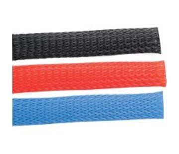 Accel cable motorcycle sleeve kit - red