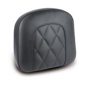 Mustang OEM style sissy bar pad Black Diamond
