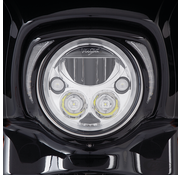 Ciro 3d products headlight bezel  black or chrome  with clear running lights,Fits: > 2014 to present FLHT Electra Glide, FLHX Street Glide and FLHTCUTG Tri-Glide