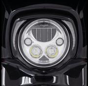 Ciro 3d products koplamprand met heldere looplichten Past op: > 2014 tot heden FLHT Electra Glide, FLHX Street Glide en FLHTCUTG Tri-Glide