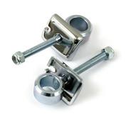 TC-Choppers Chrome rear wheel adjusters Fits: > 73-E84 FL; 73-86 FX; 84-85 Softail; 79-96 XL