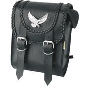 Willie + Max Luggage sissybar bags BLACK MAGIC