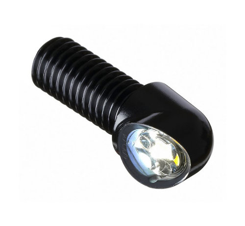 Motogadget mo.blaze tens4 2in1 turn signal. Black or Polished Fits: > M8 Threat