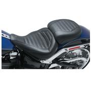 Mustang seat solo tour Trapezoid stitch Fits:> Fat Boy 18‐20 FLFB/FLFBS