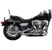 Paughco exhaust Chrome Drag Pipe Fits: > 82-83 FXR/S Shovel