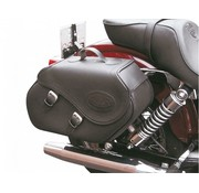 """Texas leather """"Click & Lock"""" saddle bags Fits : >  all 1991-2006 Dyna"""