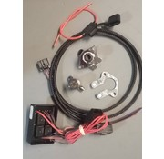 Khrome works Trailer 5-Wire Connector Kit Fits: 99‑13 FLT/ FLHT models with 8‑pin rear light connectors