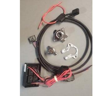 Khrome works Aanhangwagen 5-draads connectorset Geschikt voor: 99-13 FLT/FLHT-modellen met 8-pins achterlichtconnectoren