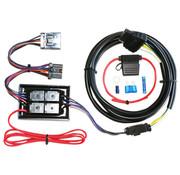 Khrome works Aanhangwagen 4-draads connectorset past op: > 97-13 FLT/ FLHT/ FLHR, 06-09 FLHX, 07-09 FLTR, 01 FLTRU, 00-17 FLSTC met 8-pins achterlichtstekkers