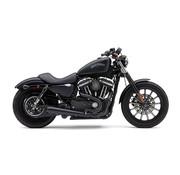 Cobra El Diablo 2-in-1 uitlaat zwart of chroom Past op: > 14-21 XL Sportster