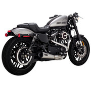 Vance & Hines stainless 2-1 Upsweep exhaust Fits: > 04-21 Sportster