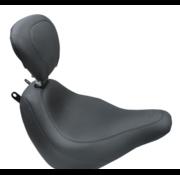Mustang Brede Tripper™ Solo Seat met rugleuning Geschikt voor:> Softail 18‐21