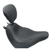 Mustang Wide Tripper™ Solo Seat with backrest Fits:> Softail 18‐21