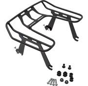 Cobra Big Ass® Detachable Wrap Around Rack black or chrome Fits: > 04‑21 XL Sportster