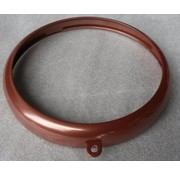 TC-Choppers headlight bezel copper 5 inch Fits: >  inch headlights with bezel