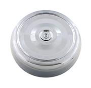 """Cubierta del filtro de aire Cromado; Acero; 7 """"de diámetro;"""