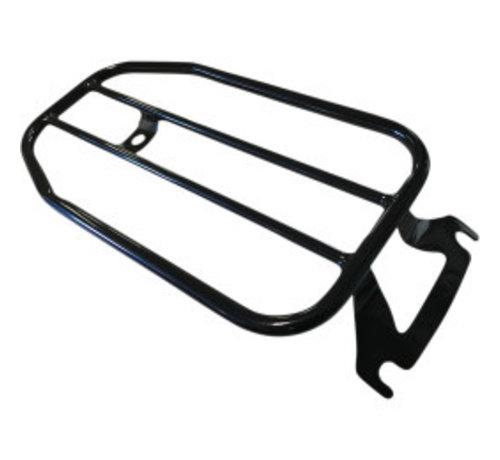 "Motherwell 7"" Solo Luggage Rack 99‑20 FLHR/ FLHT/ FLHX/ FLTR/ FLTRU/ FLTRX"