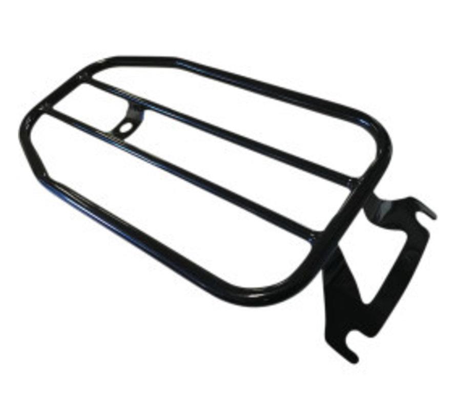 """7"""" Solo Luggage Rack 99‑20 FLHR/ FLHT/ FLHX/ FLTR/ FLTRU/ FLTRX"""