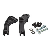 TC-Choppers passenger foot mount kit black or chrome Fits: > 06-17 Dyna