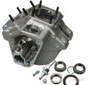 Ultima Engine Case Stock Bore Natural Fits: >  70-84 Shovelheads