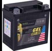 intAct Bike-Power GEL Battery Fits: > 04-21 XL Sportster