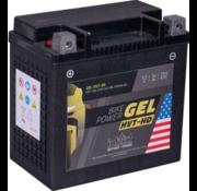 intAct Batterie Bike-Power GEL Compatible avec : > 97-02 M2, 97-99 S3, 99-02 X1, 91-17 Dyna, 91-21 Softail, 07-17 V-Rod, 97-03 Sportster