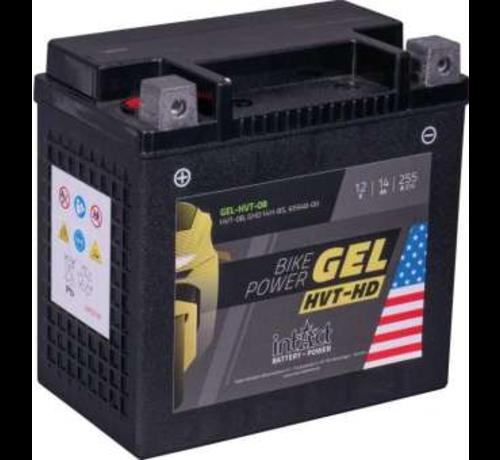 intAct  Bike-Power GEL Battery  Fits: > 97-02 M2, 97-99 S3, 99-02 X1, 91-17 Dyna, 91-21 Softail, 07-17 V-Rod, 97-03 Sportster