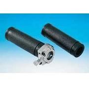 stuur chroom en gasklep enkele kabel Past op:> FL / FLH 1975-1980 en FX / XL 1974 t / m 1980
