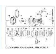 TC-Choppers primaire koppelingsdelen voor 1936 - 1984