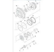 TC-Choppers primary clutch parts 1998-1999 Evo Big Twin and 1999 - 2006 Twincam