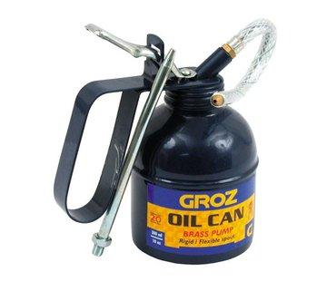 Teng Tools Gehärtetem Öl kann, UNIVERSAL 300CC (10oz). Messingpumpe